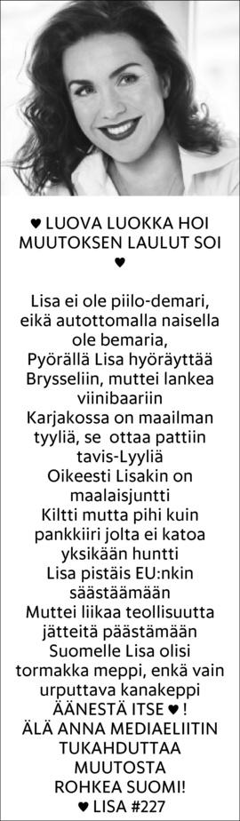 LISASOUNIOAHTISAARI_23052014