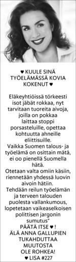 LisaSounioAhtisaari_22052014_elakepomot